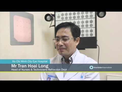 Eye care training  - Ho Chi Minh City Eye Hospital in Vietnam