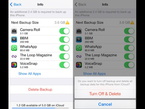 iCloud Tips ) How to Delete Old iCloud Backups on iPhone and iPad