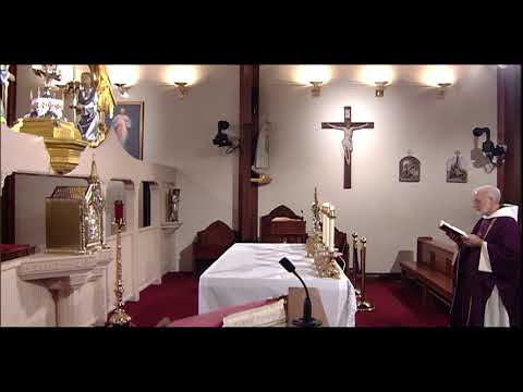 Holy Mass on Wednesday of Holy Week - on EWTN