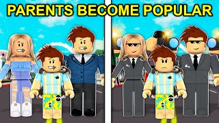 Parents Became Popular In Roblox Brookhaven..