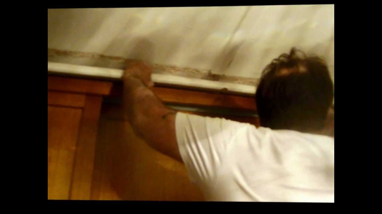 how to cut existing cornice