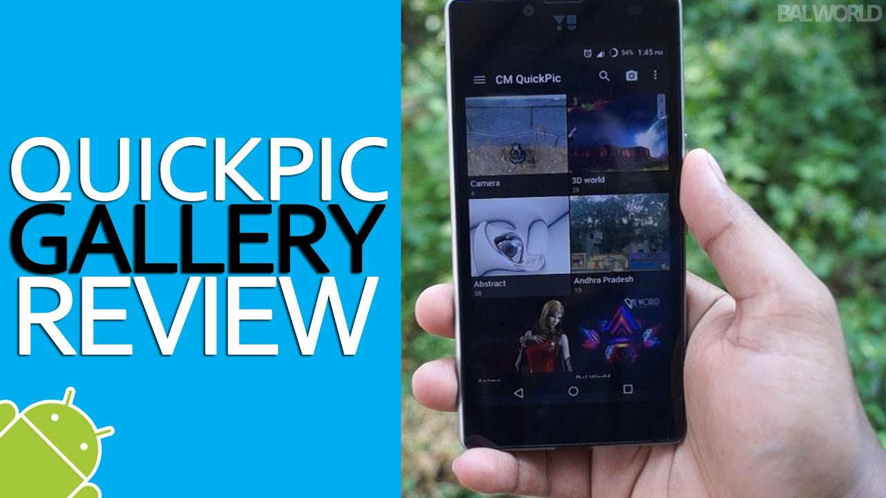 Best free Gallery App for Android: QuickPic Gallery Review