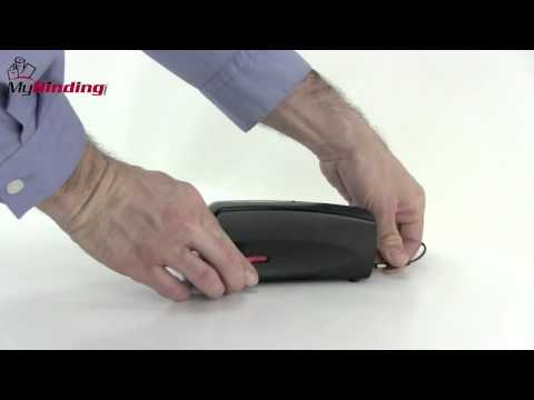 swingline electric portable desk stapler demo