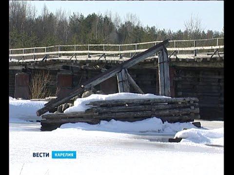 Мост в Сергиево может обрушиться в любой момент