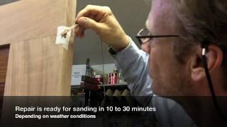 25 Make Your Own Wood Filler / Woodworking Repair • Solid Wood Door Series - Video 13