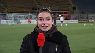 Дарья Ракицкая: первое включение перед игрой Ворскла – Шахтер