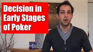 Tournament Poker Strategy: Decision Making in Early Stages of Turbo Poker Tournaments - █-█otD 51