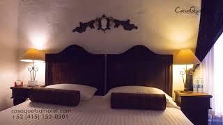Casa Quetzal Hotel Boutique San Miguel de Allende - Habitación Deluxe