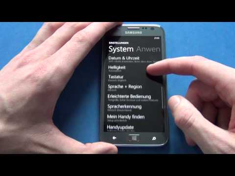 Samsung Ativ S - how to: screenshot and hard reset