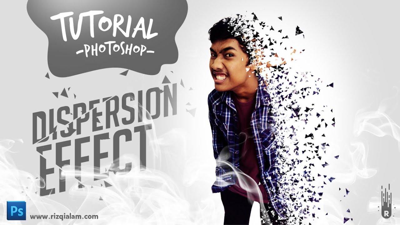 Tutorial Cara Membuat Efek Dispersion di Photoshop - YouTube