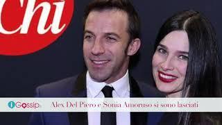 Alex Del Piero e Sonia Amoruso si sono lasciati dopo 19 anni