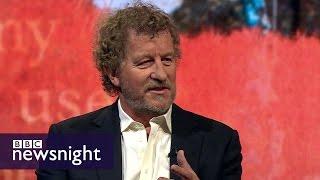 'We are a genetic freak': Sebastian Faulks - Newsnight