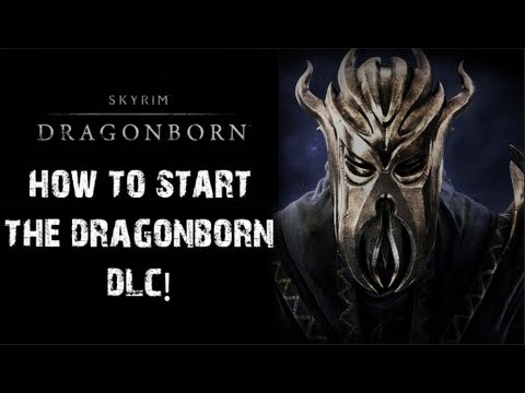 Skyrim: Dragonborn - How to Start the Dragonborn DLC!