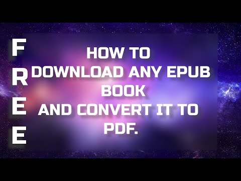 download-any-epub-book-and-convert-to-pdf-!-|-in-2020