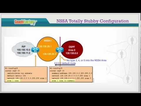 NSSA and Totally NSSA Area
