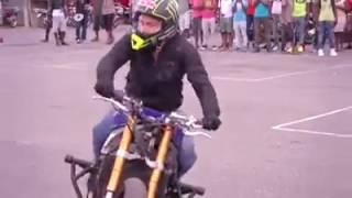 Melhor piloto de moto drift que eu já vi