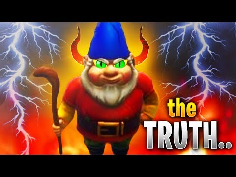 The DARK TRUTH About Fortnite's CREEPY GNOMES.. (OMG!!)