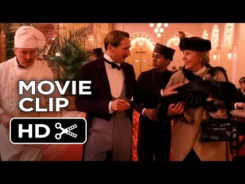 The Grand Budapest Hotel Movie CLIP - The New Lobby Boy (2014) - Wes Anderson Comedy HD