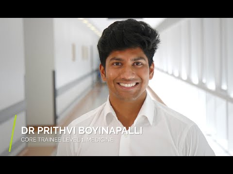 Prithvi Boyinapalli  - Core Trainee, Medicine