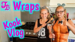Wraps maken en eten