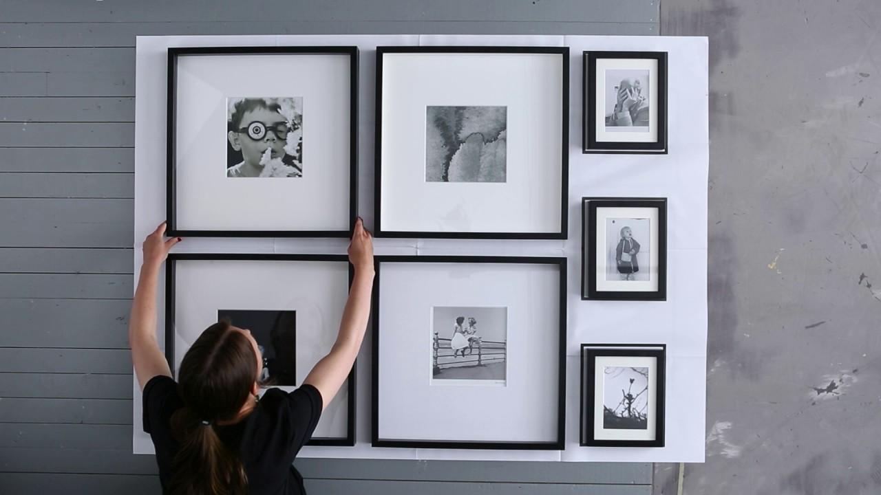 Fotolijsten Ophangen Zonder Boren.Ikea Idee Zo Hang Je Lijsten Elke Keer Weer Precies Goed