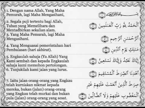 Surat Yasin Terjemahan Dalam Bahasa Indonesia 31 Ogos 2018