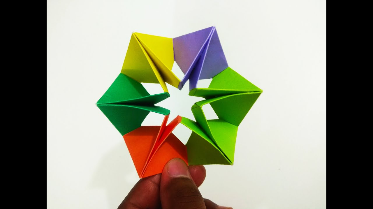 Modular Origami / How to make an Origami Ball - YouTube | 720x1280