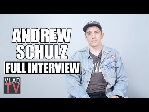 Andrew Schulz on Slavery, Religion, Face Tattoos, Racist Jokes (Full Interview)