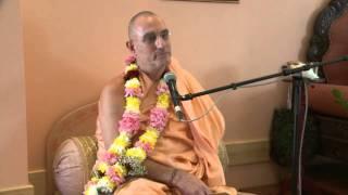 2010.06.29. Seminar by H.H. Bhaktividya Purna Swami - Riga, LATVIA