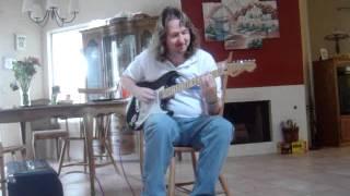 Rik plays my Stratocaster.MPG