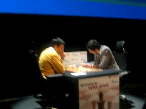 Anand totally surprises Kramnik in the opening of Game 11 of the World Championship