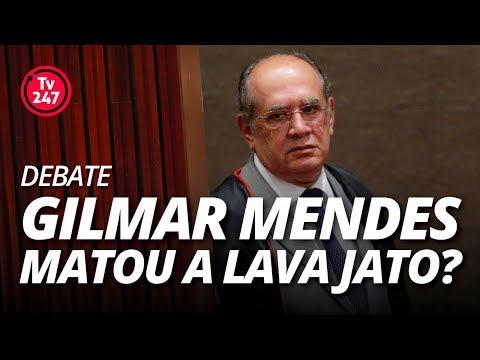 TV 247 DEBATE: Gilmar Mendes matou a Lava Jato?