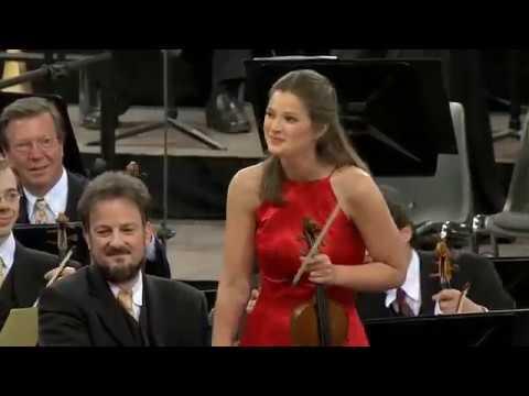 Janine Jansen - Introduction & Rondo capriccioso