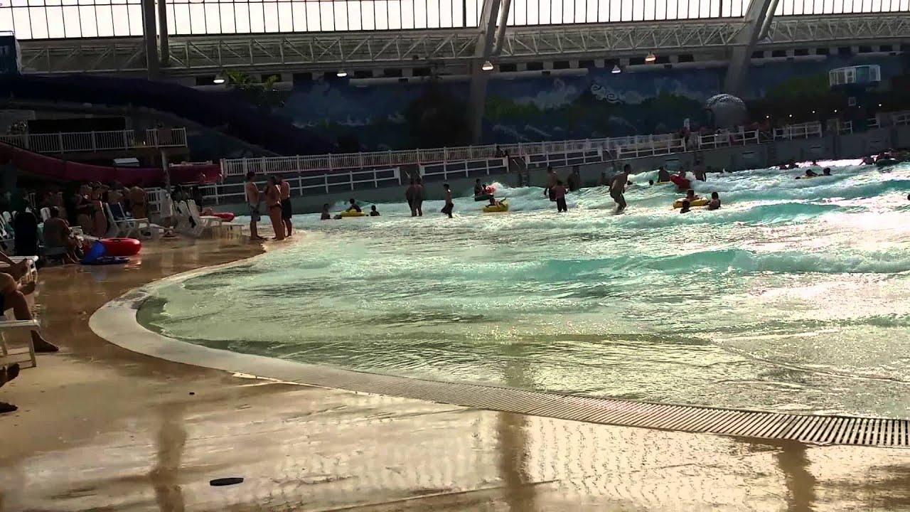Indoor Beach World Waterpark West Edmonton Mall Youtube