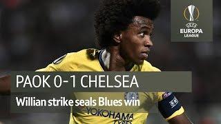 PAOK vs Chelsea (0-1) UEFA Europa League highlights