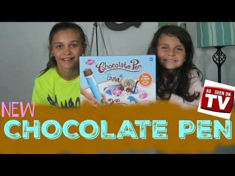 CHOCOLATE PEN Candy Maker Candy Craft Toy Review!