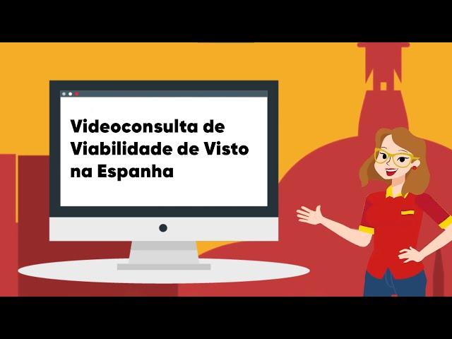 Videconsulta sobre viabilidade de Visto na Espanha é com a gente!
