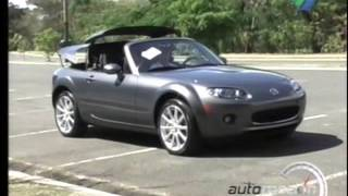 Mazda miata MX-5 2008 test drive