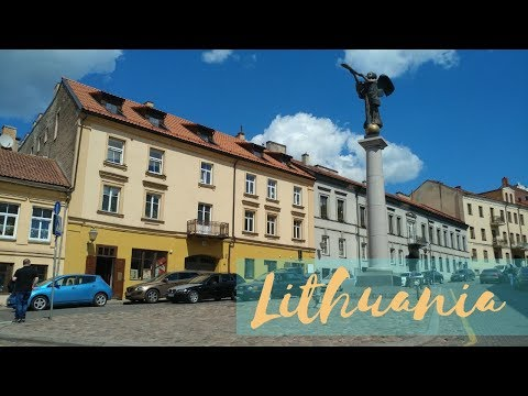 First stop in Europe: Lithuania!