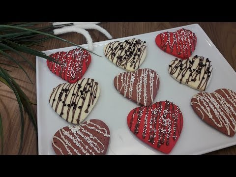 Sevgililer Gününe Özel❤️Kalpli Kurabiye Tarifi | Kalpli Kurabiye Nasıl Yapılır?