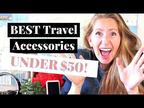 10 Best Travel Accessories Under $50   Gift Ideas for Travelers