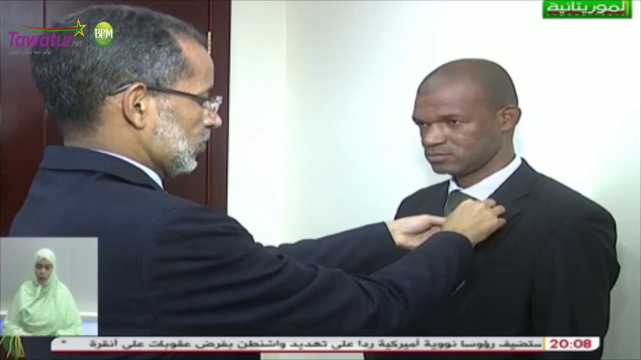 الوزير الأول إسماعيل ولد بده ولد الشيخ سيديا يوشح موظفين في الوزارة الأولى | قناة الموريتانية
