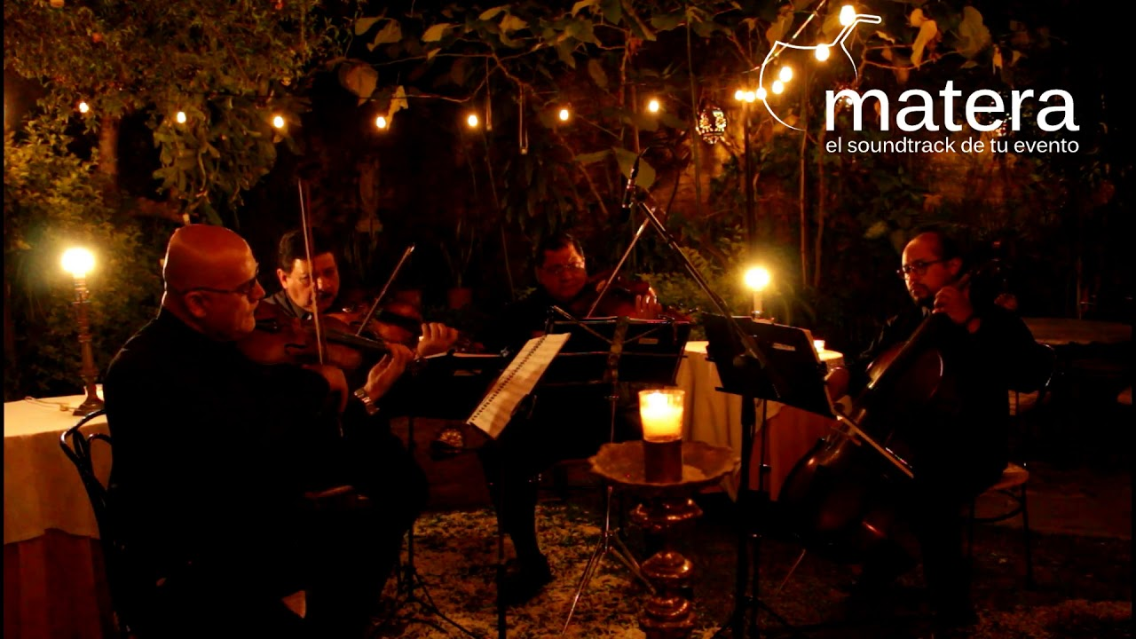 Cuarteto De Cuerdas Repertorio Actual Y Temas Clásicos Música Para Eventos En Guadalajara