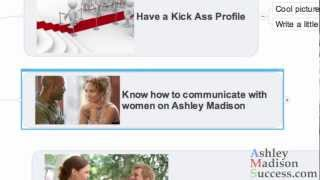 How To Be Successful On AshleyMadison Part 2 - Know How To Communicate With A Woman