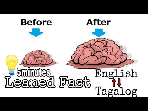 (part2)Learned English Tagalog Dictionary In 5minutes//Good For Beginners