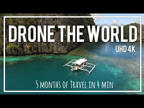 4k Drone Travel Montage | Phantom 3 Pro Video from Round the World Trip | Drone the World
