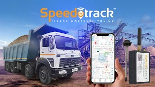 Speedotrack Fuel Monitoring GPS Tracker Installation in Tata Hyva 3118c without External Fuel Sensor