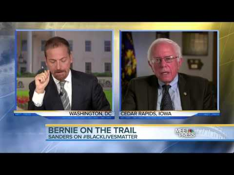 Senator Bernie Sanders NBC Meet the Press Interview