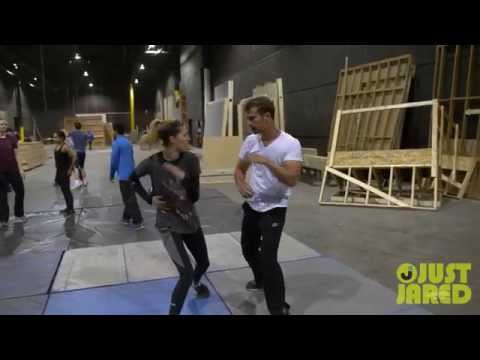 Theo James in 'Divergent'  Making Theo a Leader BTS  Exclusive