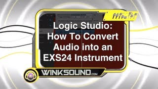 Logic Pro: How To Convert Audio into an EXS24 Instrument
